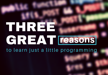 reasons to learn how to code
